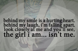 Hiding Behind A Fake Smile Quotes quotes about hiding behind a