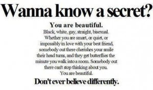 Favourite Quotes: Wanna Know A Secret