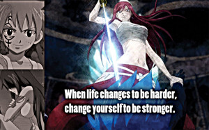 Fairy Tail Famous Quotes