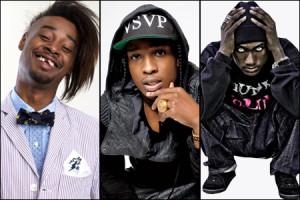 Danny Brown, A$AP Rocky & Hopsin