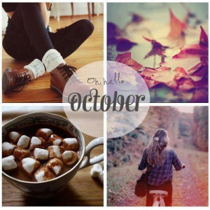Oh Hello October quotes months october