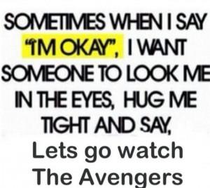 Let's Go Watch Avengers...