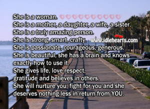 You Are Strong Beautiful Women