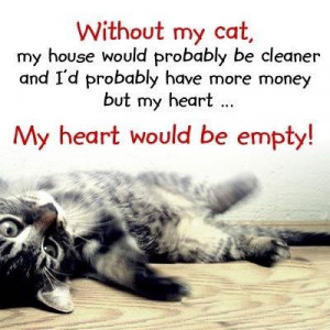 Funny Quotes About Cat Lovers : Warrior Cats Quotes Love. QuotesGram