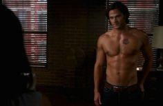Jensen Ackles Shirt Off | Jared Padalecki shirtless scene from ...
