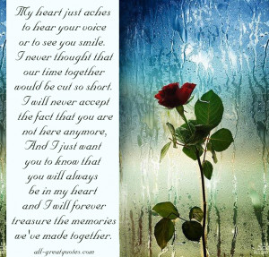... Memory - In Memoriam Verses - Remembrance Poems - all-greatquotes.com