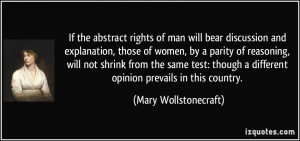 ... parity of reasoning, will not shrink from the same test. - Mary