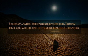 beautiful chapter of my life quote