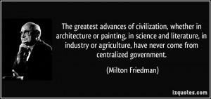 More Milton Friedman Quotes