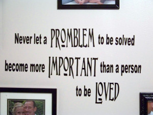 Quotes About Family Problems I centered the quote on the
