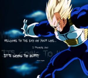 Dragon Ball Z Vegeta Quotes