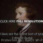 Edmund Burke Quotes and Sayings