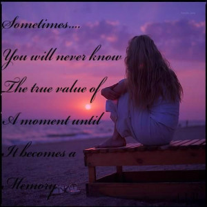 treasured memories...