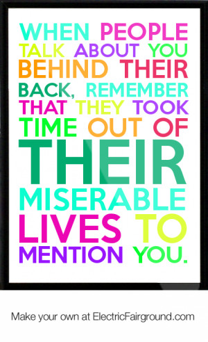 Miserable People Quotes When people