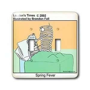 Londons Times Funny Society Cartoons Spring Fever Light Switch