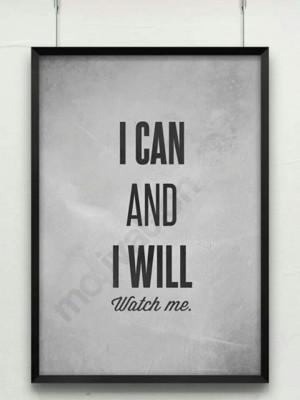 Determination Quotes Watch me determination quote