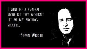 steven wright quotes Photo