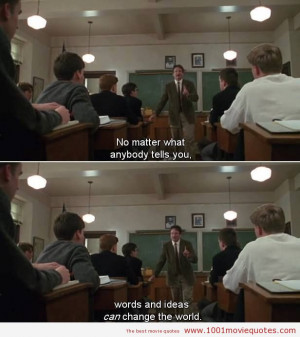 Dead Poets Society (1989) - movie quote