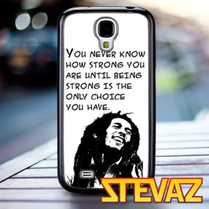 TM 983 Bob marley quotes Case for iPhone 4/4s, Iphone 5, 5s, 5c ...
