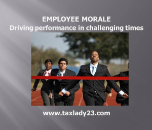 Boost Morale-Increase Productivity