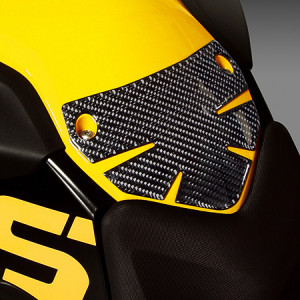 Carbon Fiber - Tank Protector - BMW F800GS, F650GS (Twin) Motorcycles ...