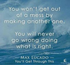 Quote. Max Lucado More