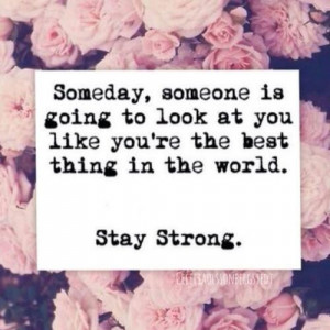 love this - stay strong!