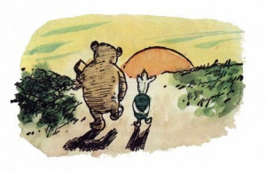 piglet sidled up to pooh from behind pooh he whispered yes piglet ...
