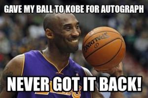 Kobe passes up chance to score. Wait, what?