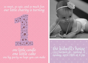 Year Old Birthday Invite – FREE Download