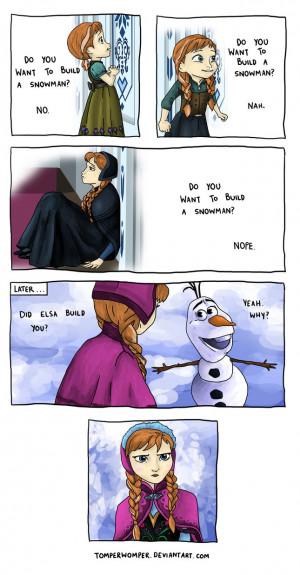 funny-picture-comics-elsa-snowman-frozen