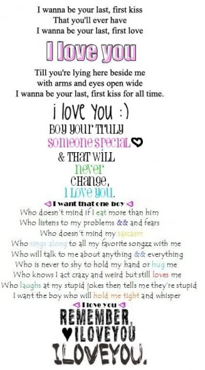 Tags: i love you quotes picture love boyfriend perfect i
