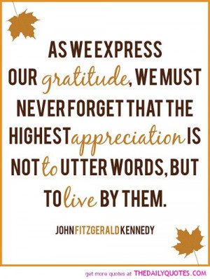 Famous Quotes Love Gratitude ~ Our Gratitude | The Daily Quotes