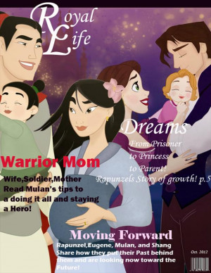 Disney Characters On Magazine Covers – 30 Pics