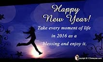 New Year 2014 Blessings Ecards