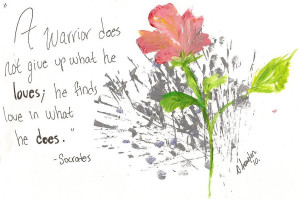 Way of the Peaceful Warrior by cookieko