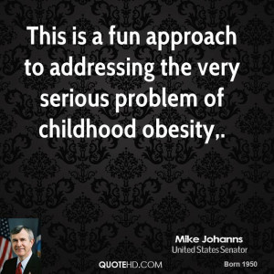 Mike Johanns Quotes