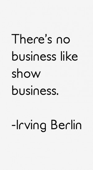 Return To All Irving Berlin Quotes