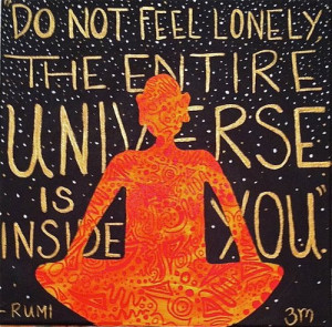 rumi art, rumi post card, rumi inspirational, spiritual, finding self ...