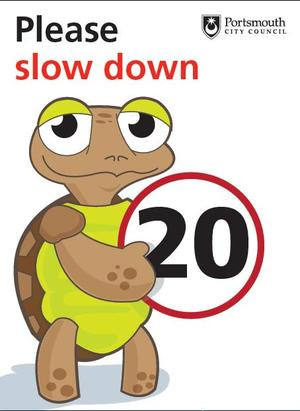 """Please Slow Down, 20 """" ~ Safety Quote"""