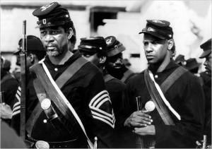 Morgan Freeman Glory Morgan freeman plays a union