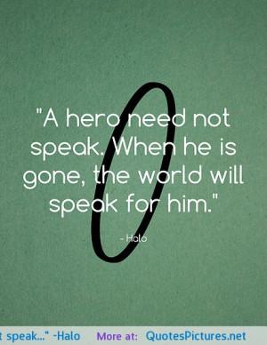 "speak…"" -Halo motivational inspirational love life quotes sayings ..."