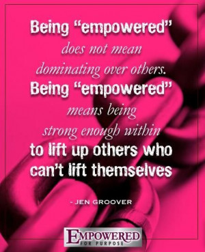 lift up others who can't lift themselves. Jennings Groover, Lifting ...