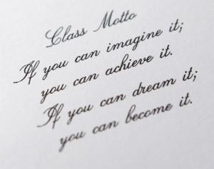 Class motto senior class quotes
