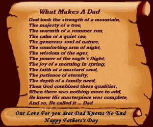 When I think of DADS I think of Brave, Strong, Powerful Protectors ...