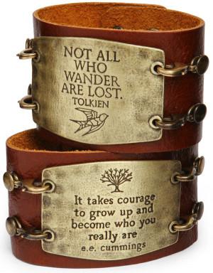 Leather Statement Cuff