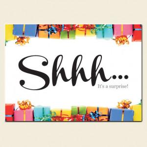 Birthday Surprise Party