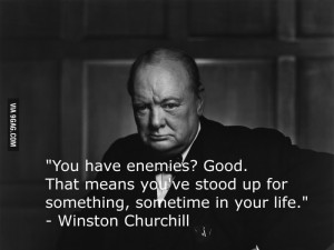 One of The Greatest Winston Churchill Quotes