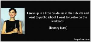 More Rooney Mara Quotes