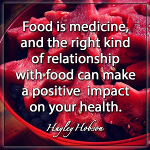 can make a positive impact on your health – Hayley Hobson | #quotes ...